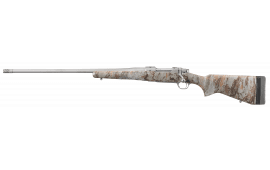"""Ruger 47173 Hawkeye FTW Hunter Bolt .375 Ruger 22"""" 3+1 Laminate Natural Gear Camo Stock Stainless Steel"""