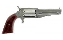 "NAA 19603C 1860 Earl 22 Mag/22LR 3"" 5rd Wood Grip Stainless Finish Revolver"