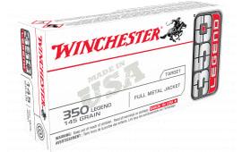 Winchester Ammo USA3501 350LEGEND 145 FMJ - 20rd Box