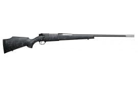 "Weatherby MAMM270WR6O Mark V Accumark Bolt .270 Weatherby Magazine 26"" 3+1 Synthetic Black w/Gray Spiderweb Stk"