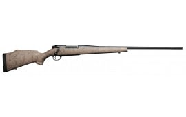 "Weatherby MUTS240WR4O Mark V Ultra Lightweight Bolt .240 Weatherby Mag 24"" 5+1 Synthetic Tan w/Black Spiderweb Stk"