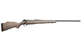 "Weatherby MUTM653WR8B Mark V Ultra Lightweight Bolt 6.5-300 Weatherby Magnum 28"" 3+1 Synthetic Tan w/Black Spiderweb Stk"