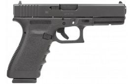 "Glock PF2050201 G20SF 10mm 4.6"" 10+1 Fixed Sights Poly Grip/Frame Black"