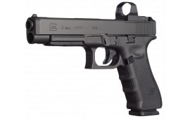 """Glock UG3430101MOS G34 Gen 4 Competition MOS Double 9mm 5.3"""" 10+1 Black"""