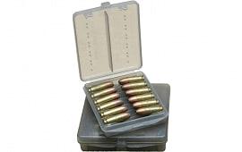MTM W184541 Handgun Ammo Wallet 45 ACP 18rd Poly Clear Smoke