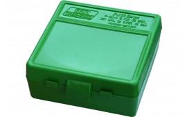 MTM P100310 100rd Pistol BX 38-357 Green Ammo Box