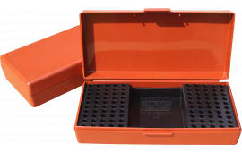 MTM SB20032 22/17 Rifle Cartridge Box Poly Rust w/Handle