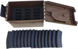 MTM TMC15 Tactical Mag Can 223/5.56 20 30rd Magazines Polymer Dark Earth