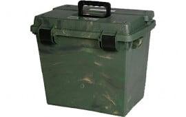 MTM SPUD709 Sportsmen's Spid 7 Dry Box Large Polypropylene Green Wild Camo