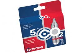Crosman 231B Powerlet CO2 Cartridges 12 Grams Stainless 5pk
