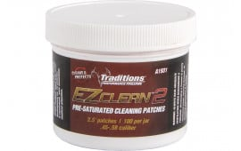 Traditions A1931 EZ Clean 2 Cleaning Patches Cleaning Patches 45 - 54 Cal