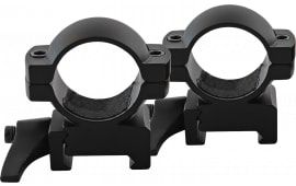 "Traditions A1373 Weaver QD Ring Set 1"" Dia Medium Black Matte"