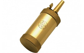 CVA AC1400A Field Flask Black Powder Solid Brass 2.5 oz