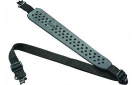 """Butler Creek 81060 Comfort V-Grip Sling w/o Swivel 1"""" Wide Rubber Black"""