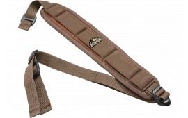 "Butler Creek 180015 Comfort Stretch Rifle 1"" Swivel 44""x2.5"" Neoprene Brown"