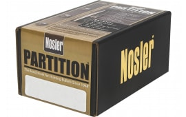Nosler 44801 Partition Spitzer 35 Caliber .358 250 GR 50 Per Box