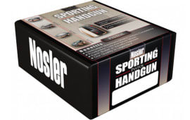 Nosler 44848 Sporting Handgun Pistol Jacketed Hollow Point 9mm .355 115 GR 250 Per Box