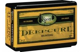 Speer Bullets 4461 Handgun Hunting 44 Caliber .429 270 GR DeepCurl Soft Point 50 Box