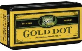 Speer 4483 Gold Dot 45 Caliber .451 230 GR Gold Dot Hollow Point 50 Box
