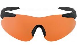 Beretta OCA100020407 Soft Touch Shooting Glasses Black Frame Orange Lenses