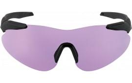 Beretta OCA100020316 Soft Touch Shooting Glasses Black Frame Purple Lenses