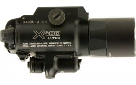 Surefire X400UAGN X400 Ultra WeaponLight with Green Laser 500 Lumens CR123A Lithium (2) Black