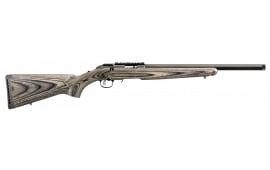 """Ruger 8350 American Rimfire Standard Bolt 17 HMR 18"""" 9+1 Laminate Blued"""