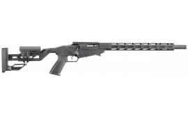"Ruger 8401 Precision 22LR 18"" TB Black 10R"