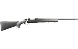 """Ruger 37114 Hawkeye Tactical with Flash Suppressor Bolt .223 / 5.56 20"""" 4+1 Hogue Overmold Blued"""