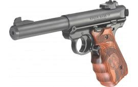 """Ruger 40159 Mark IV Target SA .22 LR 5.5"""" 10+1 Laminate Wood Grip Black"""