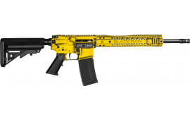 "Black Rain Ordnance Patriot Series Semi-Automatic AR-15 Rifle W/ Gadsden ""Don't Tread On Me"" Flag Cerakote - .223/5.56 30rd - BROPATRIOTGADSDEN"