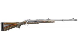 "Ruger 47117 Guide Gun Standard Bolt 338 Win Mag 20"" 3+1 Laminate Green Mountain Stock Stainless Steel"