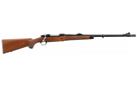 "Ruger 47120 Hawkeye African Bolt 338 Win Mag 23"" 3+1 American Walnut Stock Blued"