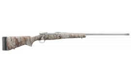 """Ruger 47171 Hawkeye FTW Hunter Bolt 7mm Rem Mag 24"""" 3+1 Laminate Natural Gear Camo Stock Stainless Steel"""
