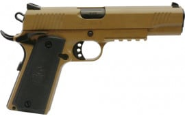 MKE Firearms 390064 MC1911S Government ADJ. SGT FDE