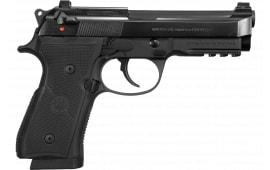"""Beretta 92X FR Centurion Semi-Automatic Pistol 9mm 17rd 4.3"""" Barrel W/ Rail - Includes 3 Magazines - GJ92QR921"""