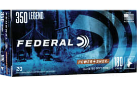 Federal 350LA 350 Legend 180 PSSP - 20rd Box