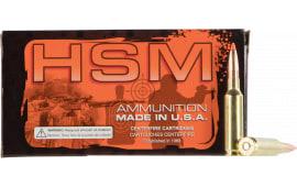 HSM 3082N - 308 Norma Mag- 168 HPBT Match - 20rd Box