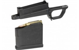 Magpul MAG569-BLK Bolt Action Magazine Well 700L Magnum Hunter 700L Magazine Well Polymer Melonite Ambidextrous