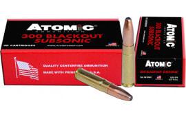 Atomic 00478 300 BO 260 RNSP Subsonic - 20rd Box