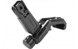 Magpul MAG526-BLK Mbus Pro Offset Black Sight Rear Offset Folding Melonite Steel