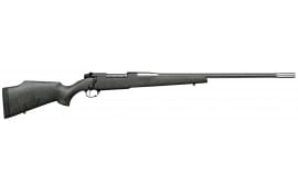 """Weatherby MARM300WR6O Mark V Accumark RC Bolt .300 Weatherby Mag 26"""" 3+1 Synthetic Gray w/Black Spiderweb Stock"""