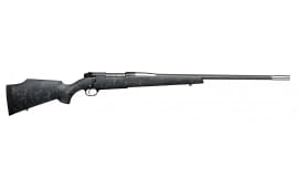 "Weatherby MAMM338LR8B Mark V Accumark Bolt .338 Lapua Mag 28"" Fluted 2+1 Synthetic Black w/Gray Spiderweb Stock Blued"