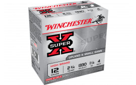 "Winchester Ammo X414 Super-X High Brass 410GA 2.5"" 1/2oz #4 Shot - 25sh Box"