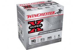 "Winchester Ammo XU166 Super-X Game Load 16GA 2.75"" 1oz #6 Shot - 25sh Box"