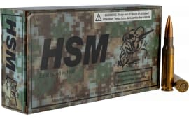 HSM 762X511N 7.62X51 168 Match King - 20rd Box