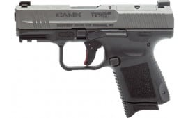 "Century Arms HG5610T-N Canik TP9 Elite SC 3.5"" 1-12rd Mag, 1-12+3 MagTungsten Grey"