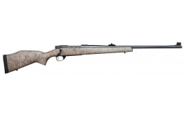 "Weatherby VGR375HR40S Vanguard Dangerous Game Rifle Bolt .357 H&H Mag 24"" 3+1 Synthetic Tan w/Black Spiderweb Stock Blued"