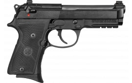 "Beretta 92X FR Compact Semi-Automatic Pistol 9mm 13rd 4.3"" Barrel W/ Rail - Includes 3 Magazines - GJ92CR921"