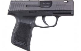 "Sig Sauer 3659SASC P365 3.1"" Micro Compac FT Bullseye 10-SH Black Polymr"